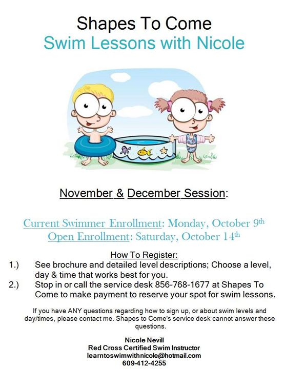 Photos from Shapes to Come Swim Lessons's post