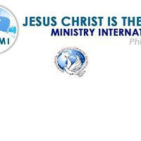 Jesus  christ is the WAY Ministry INTERNATIONALPhilippines