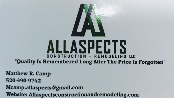 All Aspects Construction & Remodeling LLC's cover photo